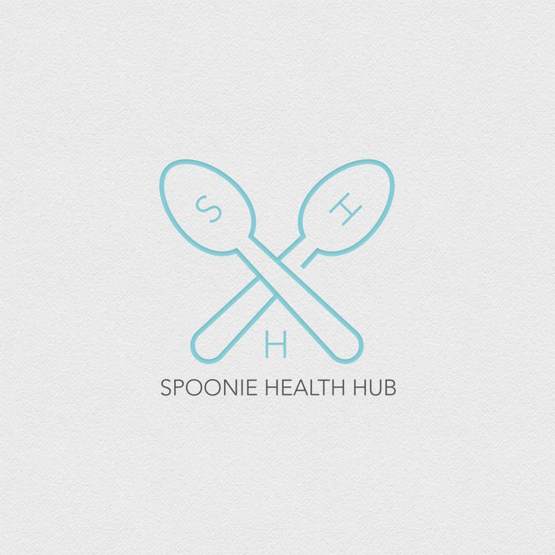 Spoonie Health Hub Logo Design