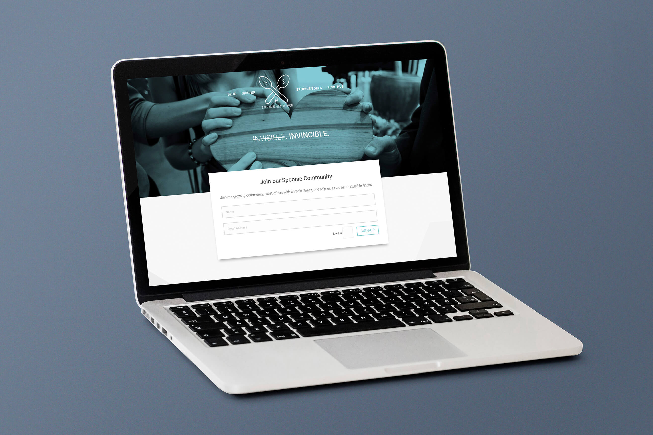 Web Design | Spoonie Health Hub