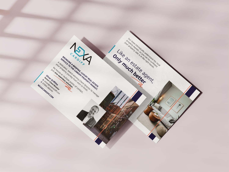 Leaflet Design for Estate Agent